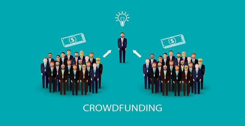 finanziamento dal basso persone aiutano idea