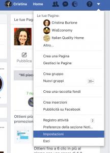 scaricare dati personali da profilo facebook
